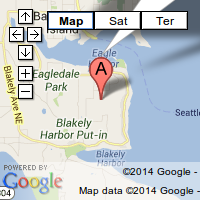 map to bainbridge pilates
